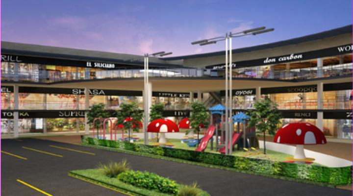 Construyen desarrollo comercial en San Nicolás