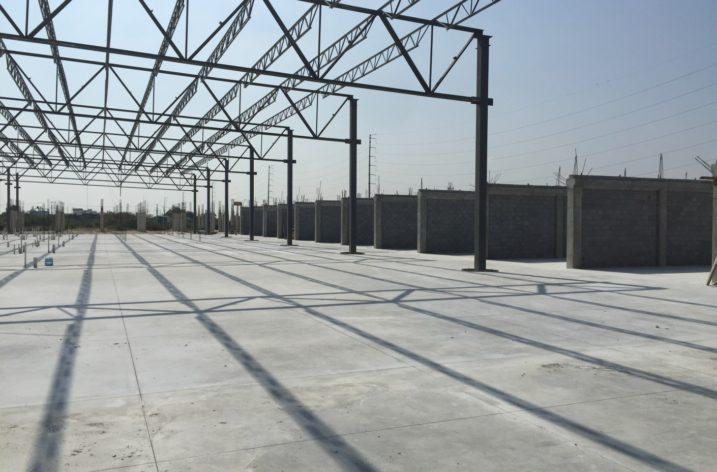 Avanza construcción de Plaza Abastos