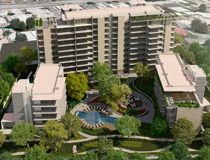 Reanudarán construcción de Serena Green Living