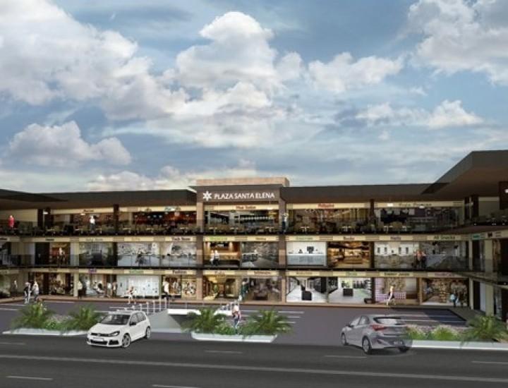 Construyen Plaza Santa Elena en Cumbres