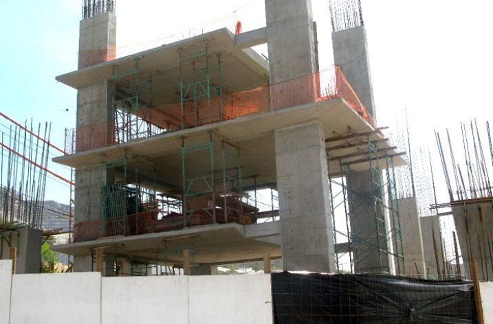 Inician estructura de torre corporativa