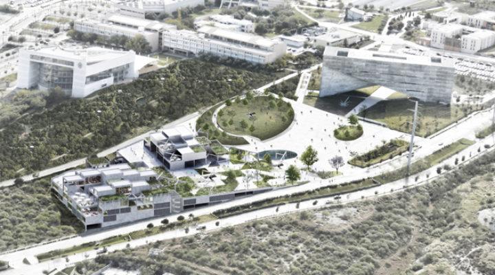 Presentan nuevo proyecto de pabellón universitario