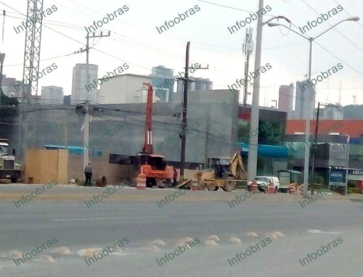 Inicia cimentación de edificio comercial de 3 mil m2