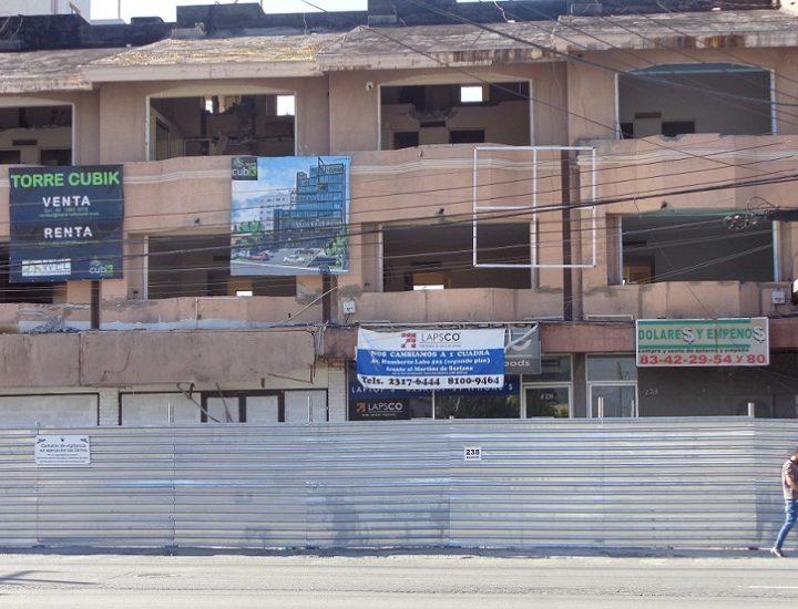 Edificarán edificio de 17 niveles; inician trabajos de demolición