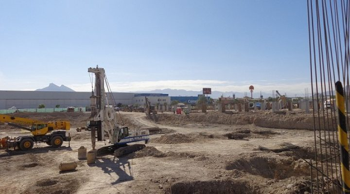 Construyen megacomplejo múltiple en Apodaca