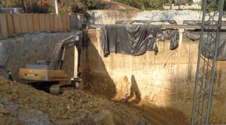 Retoman construcción de agencia en San Pedro
