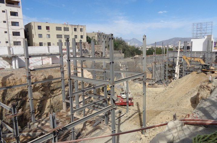 Inicia etapa de estructura proyecto de 14 mil m2