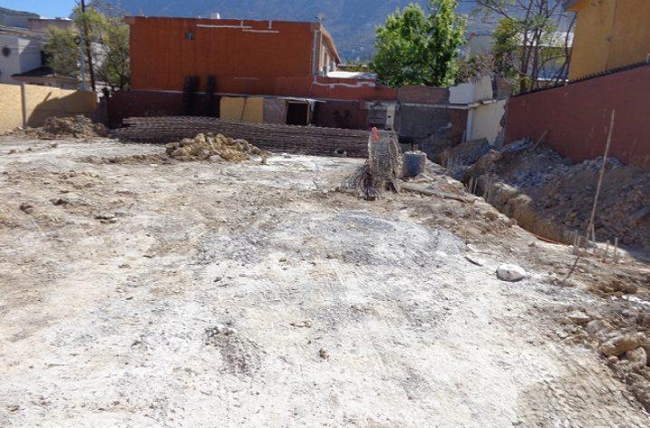 Alistan construcción de inmueble en Chipinque