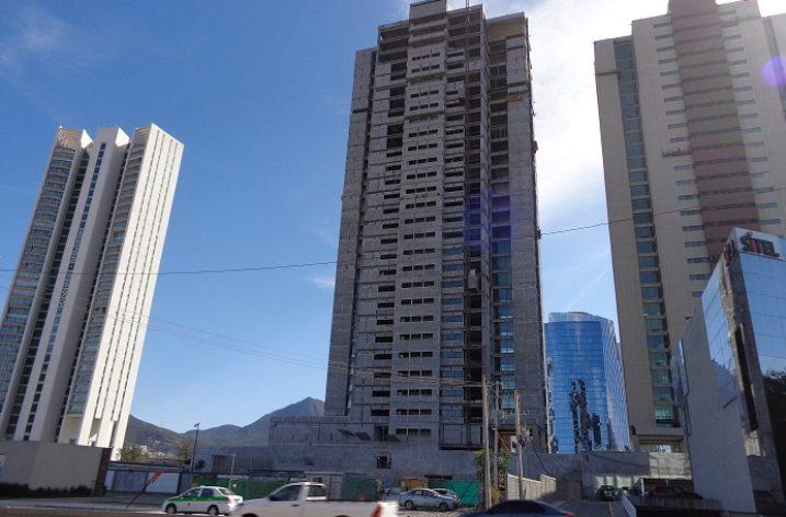 Alistan etapa de acabados en torre residencial