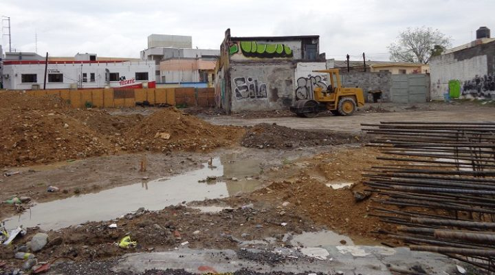 Comienza construcción de plaza en Ruiz Cortines