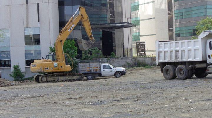 Preparan llegada de oficinas; inician labores de excavación