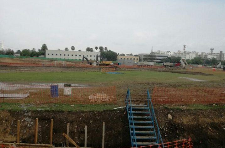 Avanza construcción de infraestructura en Distrito Tec