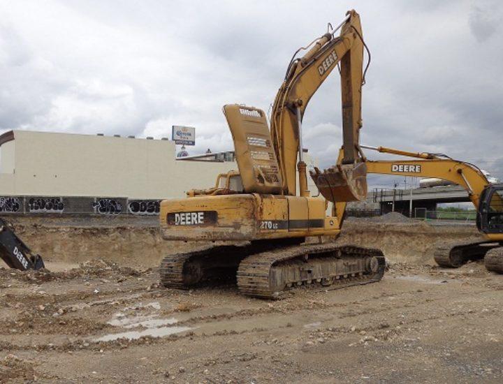 Ejecutan excavación para proyecto de 23 mil m2