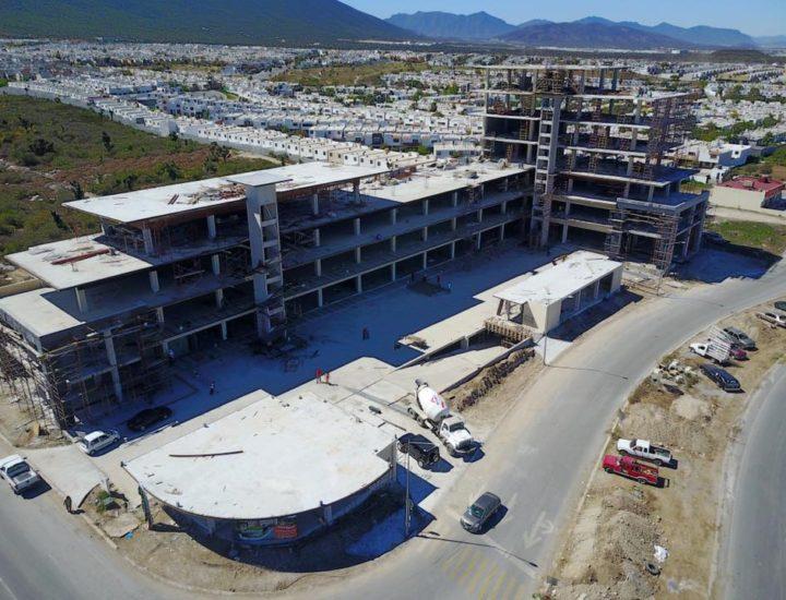 Preparan fase final de complejo de 12 mil m2