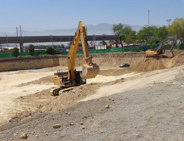 Ejecutan excavación en Guadalupe; llegará complejo comercial
