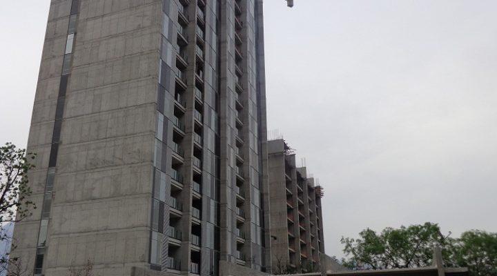 Iniciarán acabados en conjunto residencial en Santa Catarina