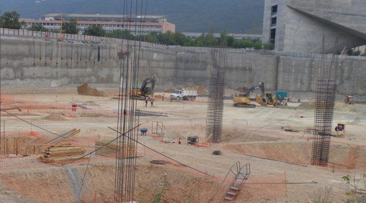 Arranca fase de cimentación en Pabellón Amarillo
