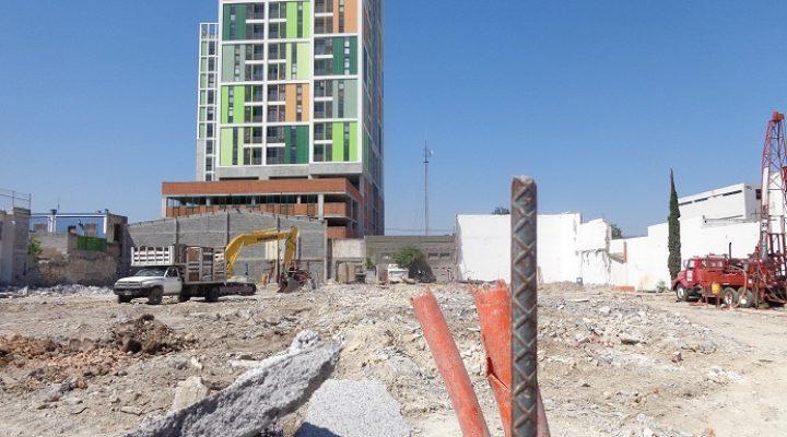 Comienzan labores para edificar torre de 32 niveles
