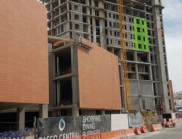 Avanza construcción de Paseo Central en Chihuahua