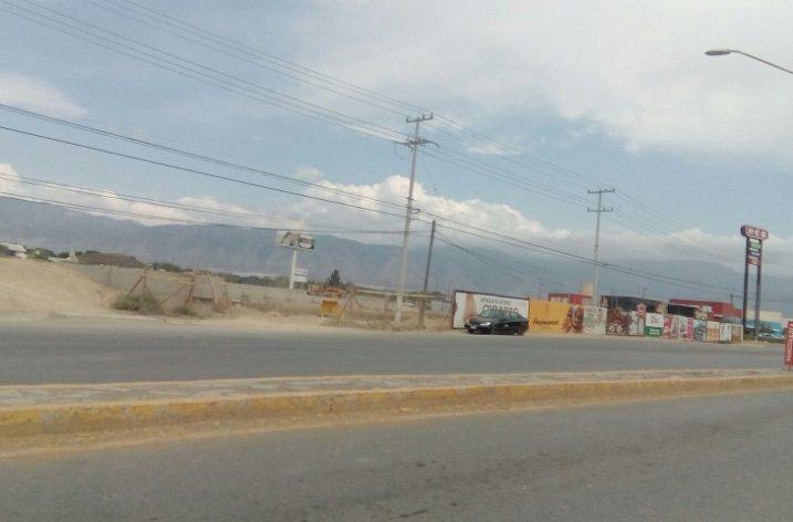 Inician trabajos preliminares de Plaza Cocoa en Saltillo