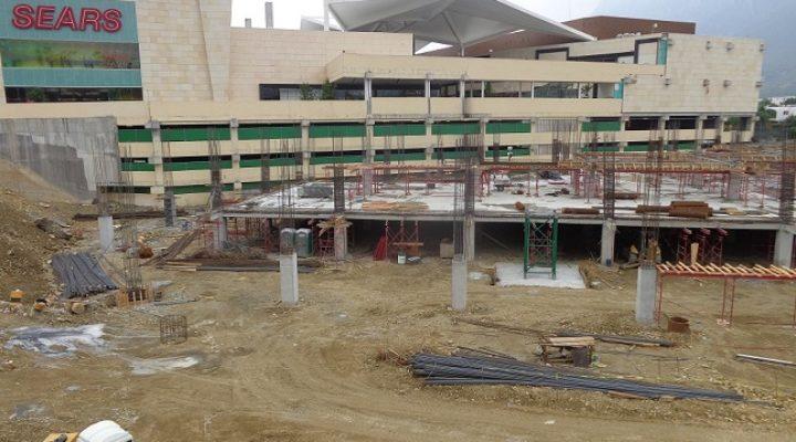 Edifican sótanos de extensión comercial de 20 mil m2
