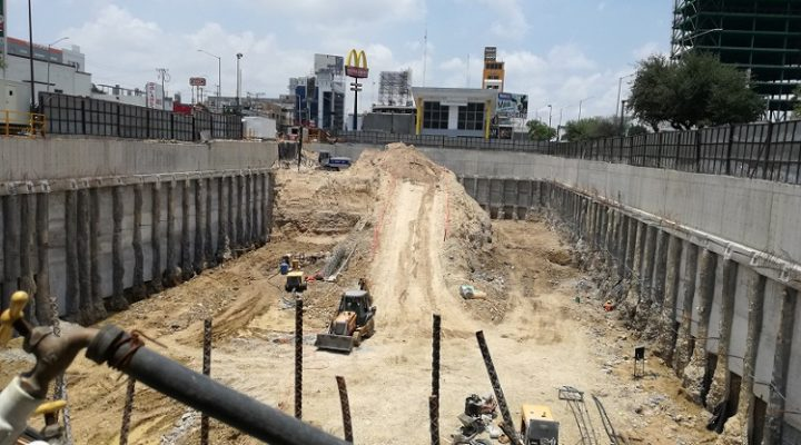 Alistan fase de cimentación en proyecto de 95 mil m2
