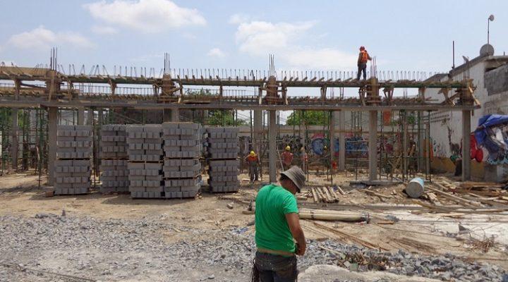 Aceleran construcción de proyecto en Rodrigo Gómez