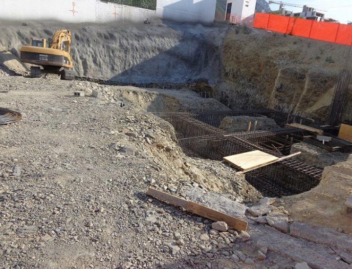 Comienza cimentación de edificio de 20 niveles