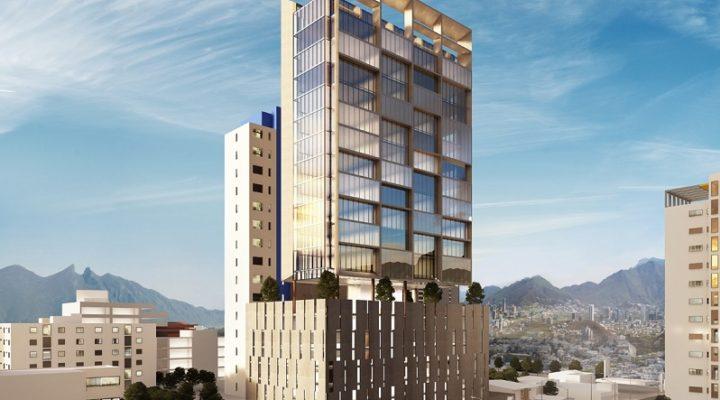 Alistan cimentación de torre de oficinas en San Jerónimo