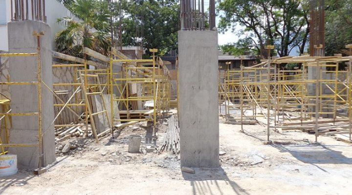 Avanza construcción de proyecto vertical de 12 niveles