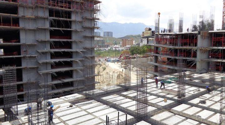 Avanza construcción de conjunto vertical en Obispado