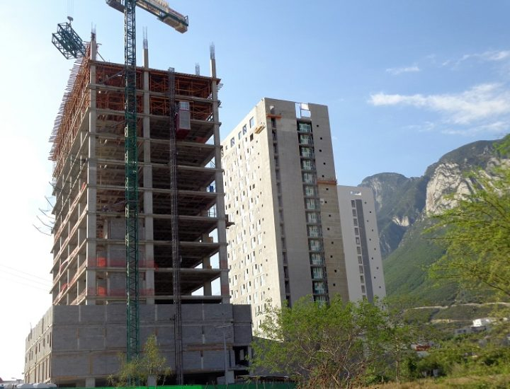 Entra a recta final estructura residencial en VP