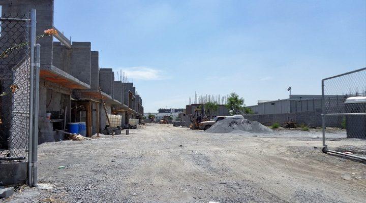 Construyen edificios de vivienda en Guadalupe