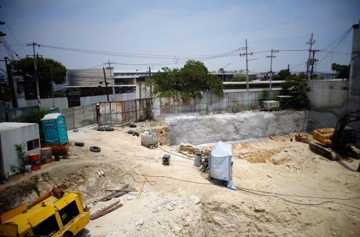 Ejecutan fase de taludes de proyecto en Obispado