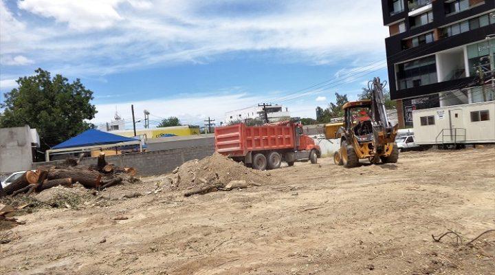 Alistan predio para obra comercial en Calzada del Valle