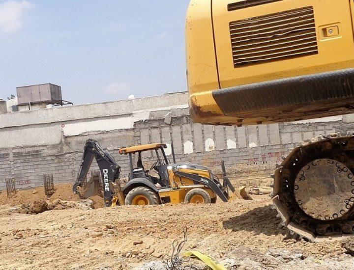 Avanza excavación de obra mixta en Río Volga