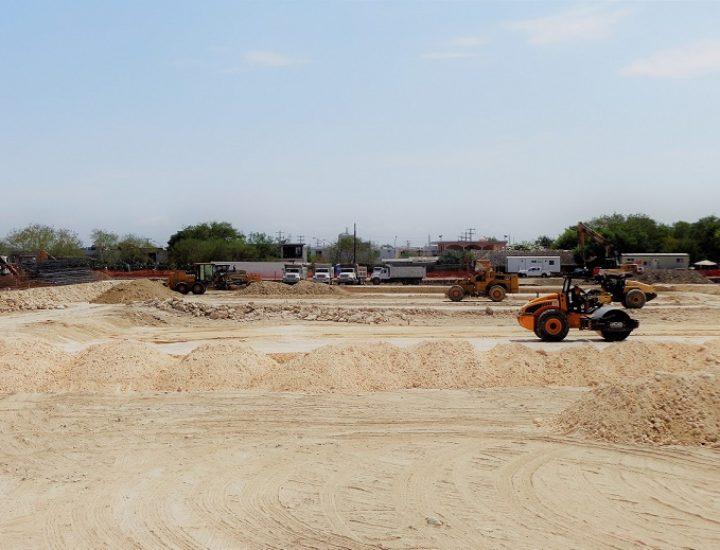 Llega constructora a magno proyecto en Escobedo