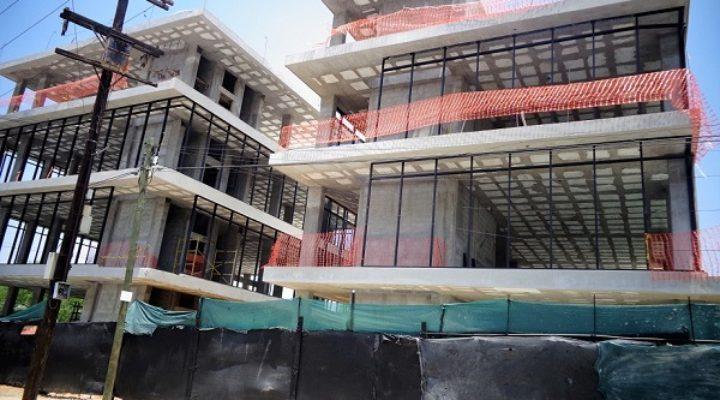 Ejecutan fase final de complejo de oficinas en SP