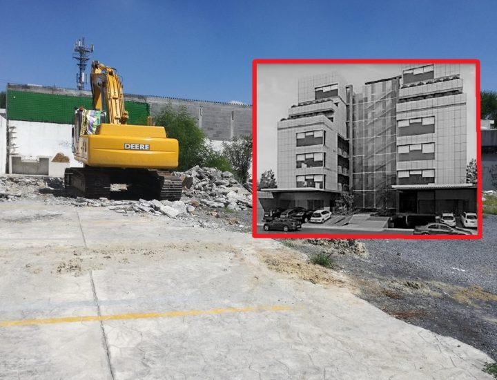 Proyectan torre de uso mixto de 7 mil m2 en Mitras