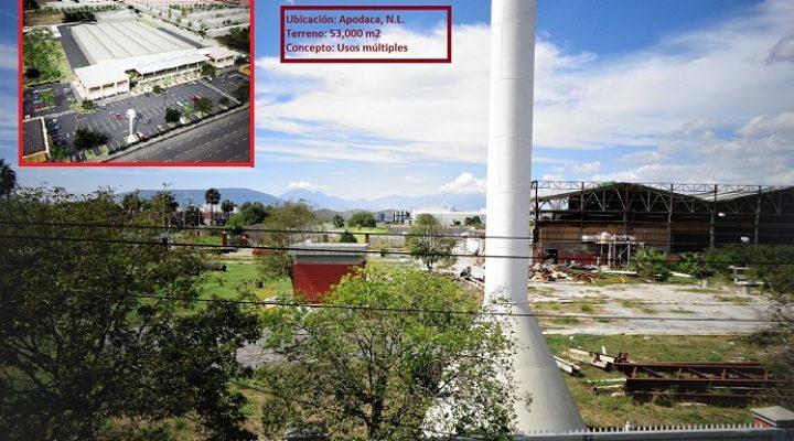 Reciclarán terreno industrial de 53 mil m2 en Apodaca