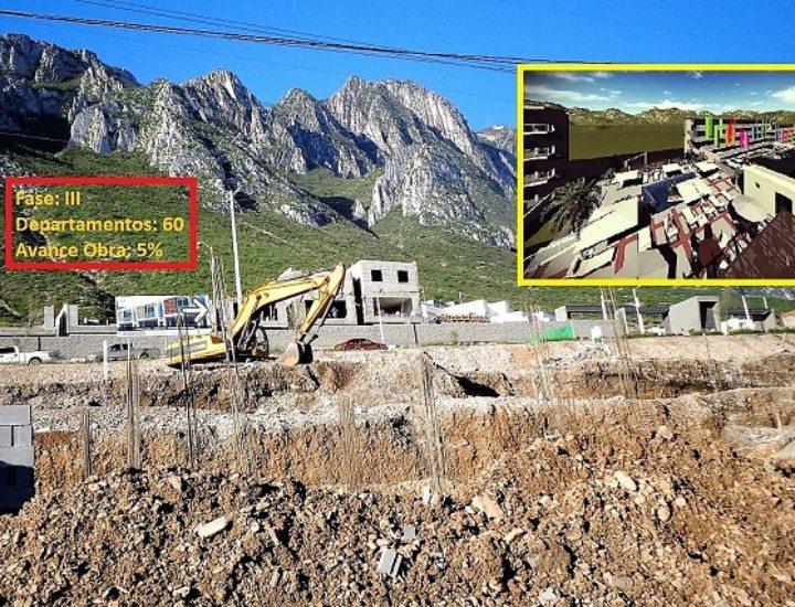 Edifican nueva fase de 'depas' en Valle Poniente