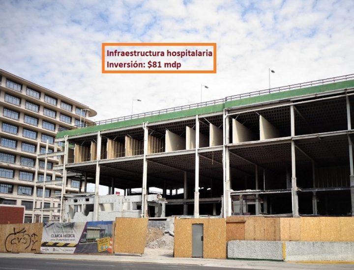 Reactivan construcción de centro médico en NL
