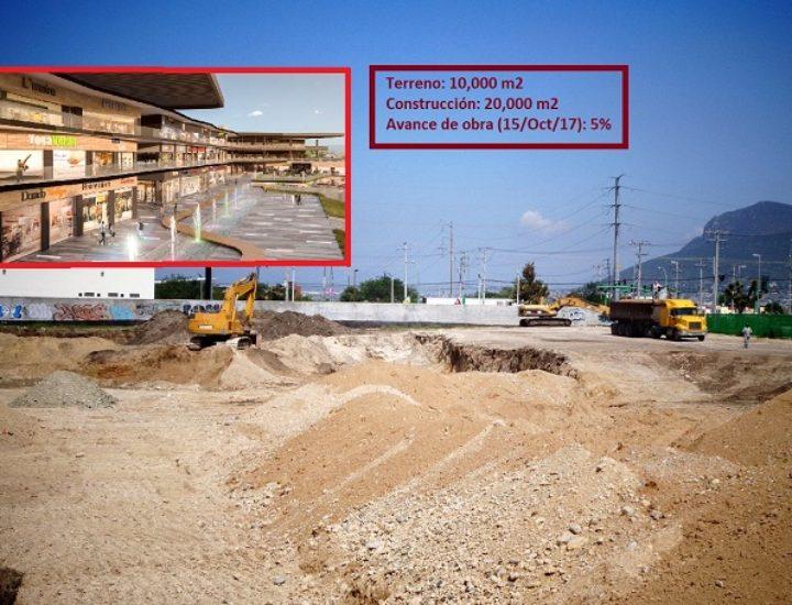 Edifican megaplaza comercial en zona Cumbres