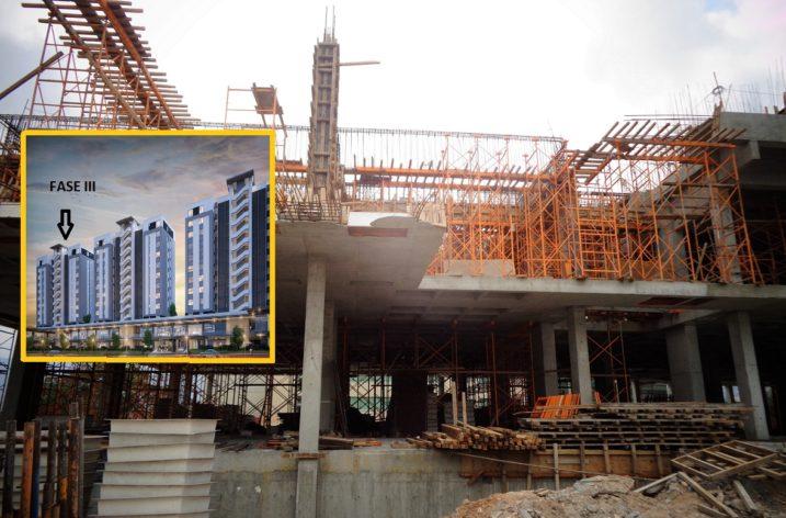 Edifican nueva fase de departamentos en Santa María