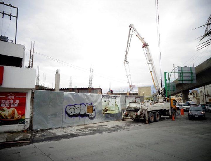 Levantan edificio multiusos en Av. Ruiz Cortines
