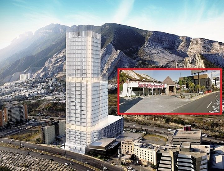 ¡Ciao Santa Bárbara Grill!; alistan torre de 33 niveles