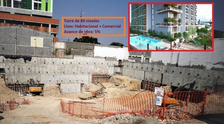 Alistan cimentación de obra mixta en La Purísima