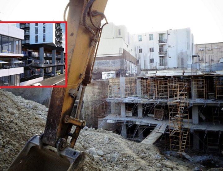 Ejecutan fase de sótanos de condominio múltiple