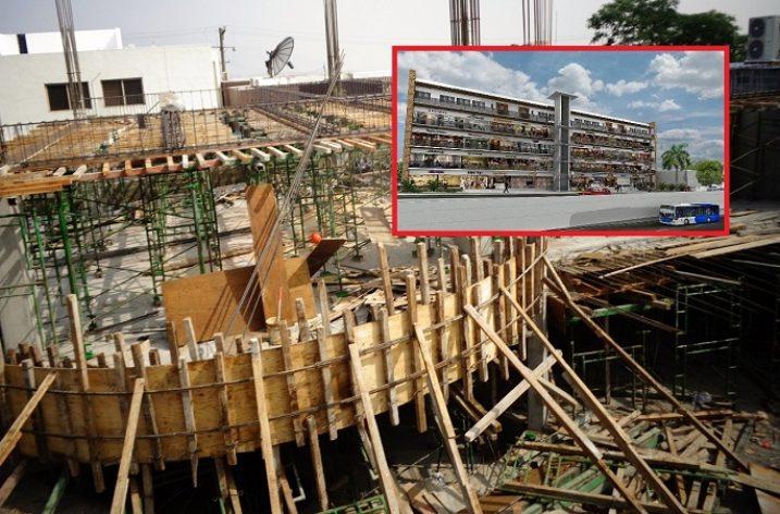 Desarrollan plaza de uso múltiple en Av. Leones