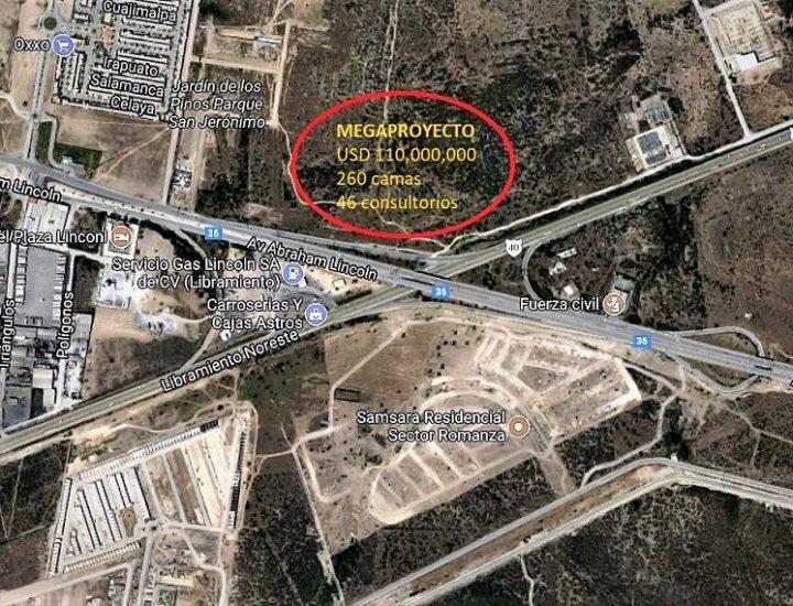 Asignan constructor de 'megahospital' de 110 mdd